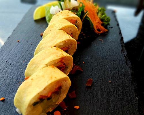 tamago vegetarian maki